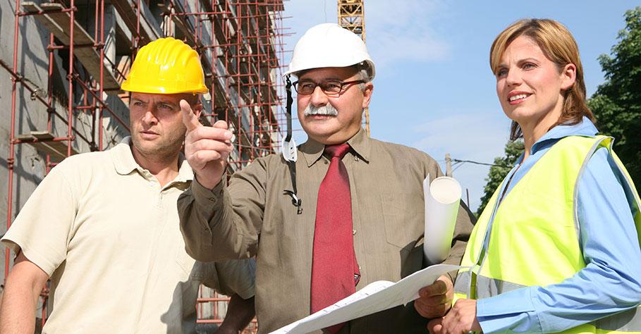Byggtjänsterna som ingenjörsbyrån hjälper till med
